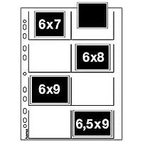 Hama Negativarchivierungshüllen (Polypropylen, für 8 Einzelnegative im Format 6 x 7-6,5 x 9 cm)