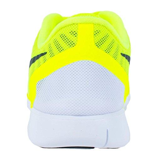 Nike Free 5.0 (Gs), Scarpe sportive, Ragazzo Giallo lime/nero/verde elettrico (Volt/Black/Electric Green)