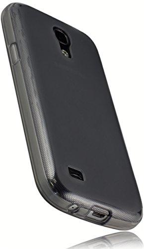 mumbi Schutzhülle für Samsung Galaxy S4 mini Hülle transparent schwarz (Neue Samsung Galaxy S4 Telefon)