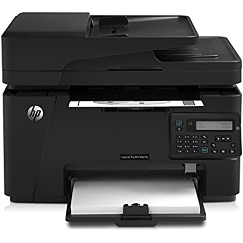 HP LaserJet Pro M127fn - Impresora multifunción (Laser, Mono, Mono, 20 ppm, 600 x 600 DPI, 9,5s) Negro