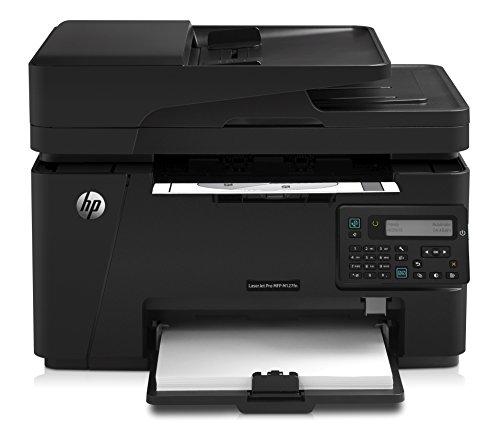 HP LaserJet Pro M127fn Laserdrucker Multifunktionsgerät (Drucker, Scanner, Kopierer, Fax, LAN, HP ePrint, Airprint, USB, 600 x 600 dpi) schwarz