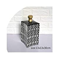 light Saber DUN vases Black And White Geometric Pattern Decorative Pot Simple Fashion Nordic Style Ceramic Curved Surface Home Soft Decorative Vase