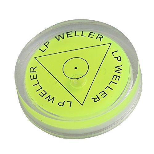 BQLZR 40x10mm Gr¨¹n Kreis Blase Wasserwaage Runde Neigungsmesser Blase Oberfl?che F¨¹llstand Messger?te f¨¹r Recorder Disc Stativ
