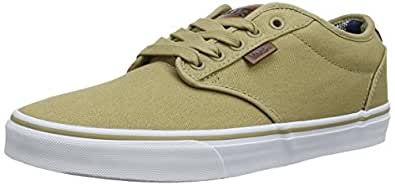 Vans Atwood Deluxe, Men's Low-Top Trainers, Beige - Beige ((10 oz Canvas)K F65), 6 UK