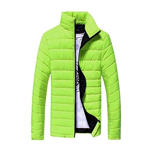 Screenes Fashion Herren Herbst Boss Freizeit Jacken Mode Winter Jacke Bomberjacke Slim Fit Einfarbig Warm Regenmantel Windbreaker Casual Und...