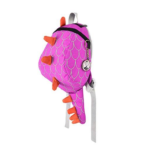 Kinder Rucksäcke Cartoon Schultasche Kleinkind Kindergartentasche Schulranzen Wandern Reise Babyrucksack für 1-4 Jahre Alt Kinder Rosa