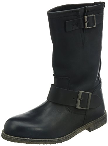 Buffalo London 13980 01 106343, Stivali donna, colore: Nero Nero (Beige)