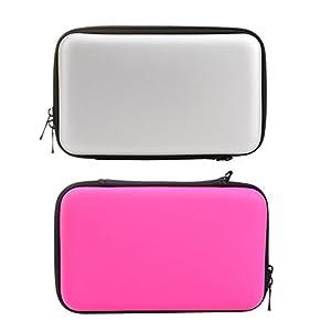 Demiawaking EVA Lagerung Reißverschluss Tasche Schutzhülle Abdeckungs Haut Gehäuse Deckel für Nintendo 3DS XL LL