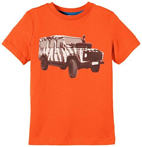 ESPRIT Jungen T-Shirt 055EE8K002, Gr. 104 (Herstellergröße: 104/110), Orange (ORANGE COLOURWAY 899)