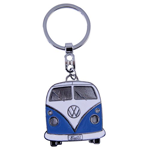 VW Collection by BRISA Portachiavi Collezione Volkswagen VW Bus T1 Blu