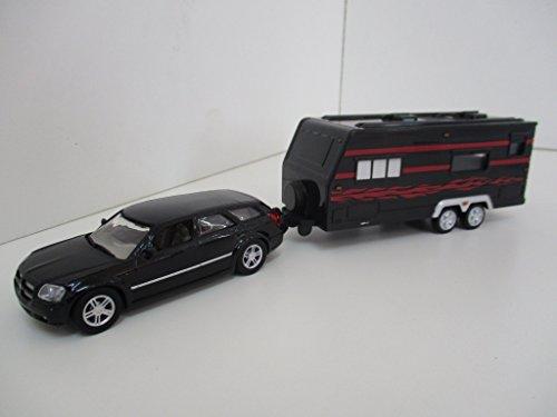 dodge-magnum-rt-caravane-noire-1-43-motor-max