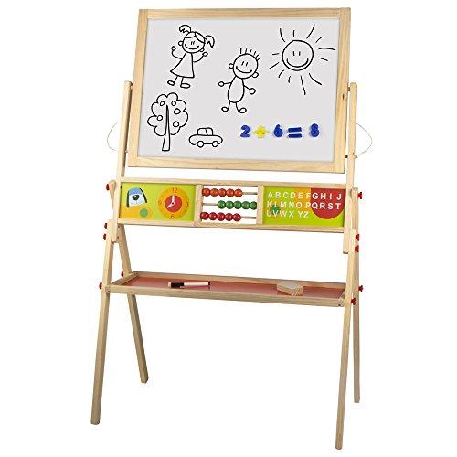 ColorBaby - Pizarra madera de tiza y magnética