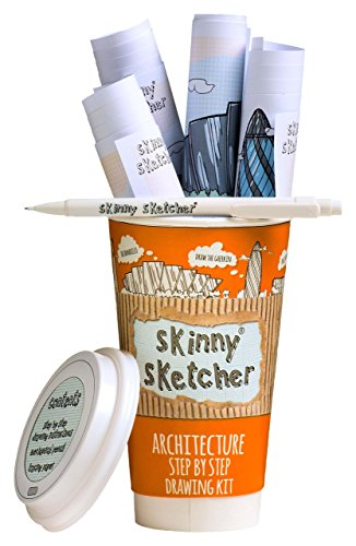 Skinny Ardoise Kit dessin étape par étape Architecture