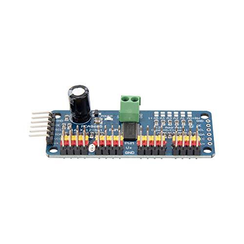 Jolicobo 16 Channel 12 Bit PWM Servo Motor Driver IIC Interface PCA9685  Module Controller For Arduino Robot Raspberry Pi DIY Servo Shield Module