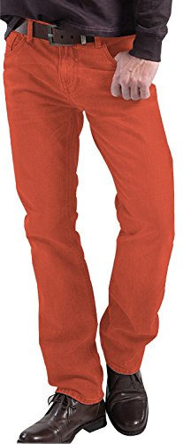 Stooker hero denver jean stretch coupe regular straight 7105 Rouge - 2536 - Coral