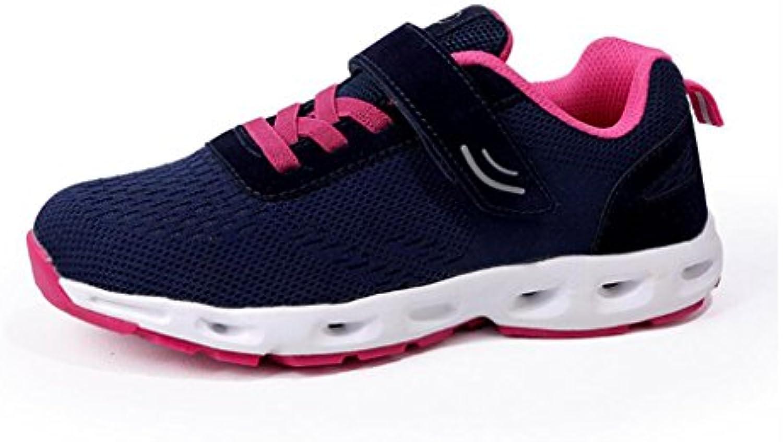 YaXuan Turnschuhe  Neue Männer und Frauen  die Gesponnene  Breathable Sport Schuhe  Super weisshe Gummiboden Paar alte