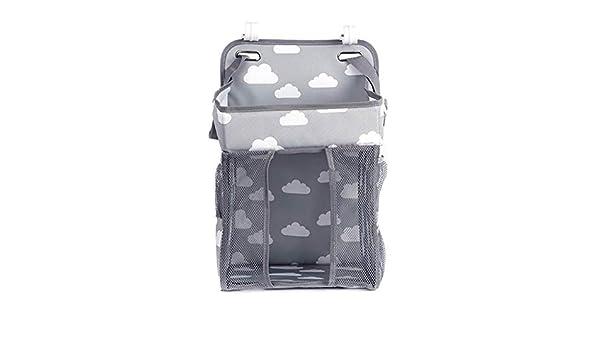 Einkaufstasche BLAU Pack mit 2 extra Haken f/ür Kinderwagen zum Aufh/ängen von Windeln