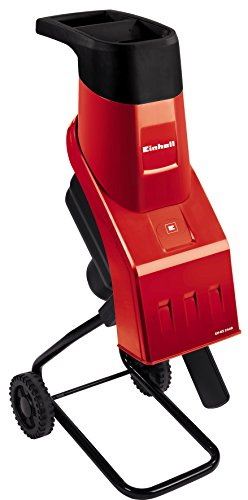 elektro leisehaecksler Einhell Häcksler GH-KS 2440 (2400 Watt, 40 mm Aststärke, inkl. Stopfer und Fangsack)
