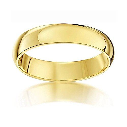 Briva True Love Brass 22K Gold Plated Ring for Girls and Women (9.0)