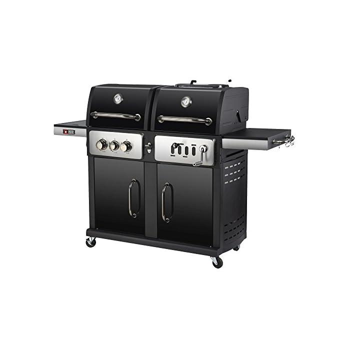 Mayer Barbecue Zunda Holzkohle Gasgrill Kombigrill Mgh 1201 Ii Pro