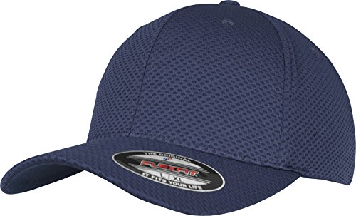 Flexfit 3D Hexagon Jersey Cap Kape, Navy, L/XL