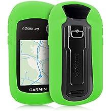 kwmobile Funda para Garmin eTrex 10/20/30/201x/209x/309x - Estuche Protector de navegador GPS para Ciclismo - Cubierta Case Cover para Navi de Bicicleta Verde