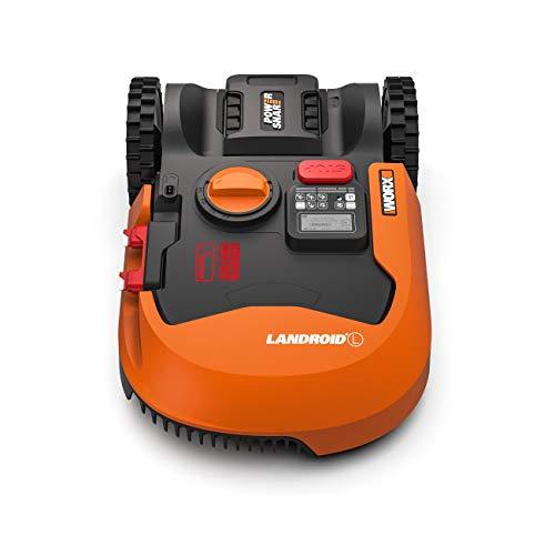 Worx Landroid L WR155E Mähroboter / Akkurasenmäher für große Gärten bis 2000 qm / Selbstfahrender Rasenmäher für einen sauberen Rasenschnitt im Handumdrehen - 3