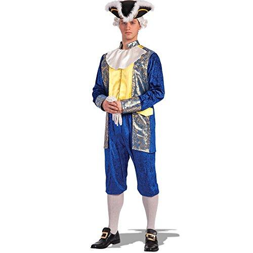 Carnival Toys 83621 - Costume Cavaliere Blu T. U. in Busta