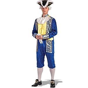 Carnival Toys - Disfraz caballero en bolsa, talla única, color azul (83621)