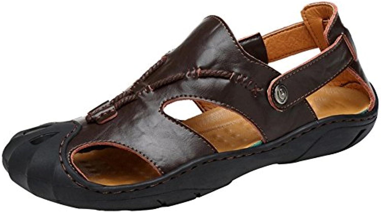 99dbc76cc1d7e4 les sandales en cuir à bout bout bout fermé les chaussures de plage et  creuse b07dqksmp9 ran ée parents plein air chaussures sandales | élégant  1d17b8