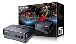 AVerMedia Game Capture HD (C281)-Record Xbox 360, PS3, and Wii HD Gameplay in Real-time up to 1080P