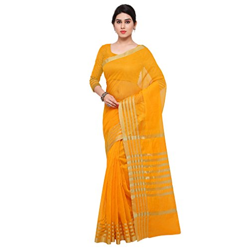 Saree (Woman`s Clothing Saree For Woman Latest Desigen Wear Sarees Collection In Multi-Color Art Silk Material Latest Sarees With Designer Blouuse Free Size Beautiful Bollywood Sarees For Woman Party