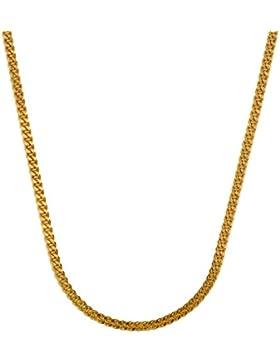 1,6 mm 45 cm 585 Gold Panzerkette Goldkette 14 kt massiv Gold hochwertige Halskette 3,69 g