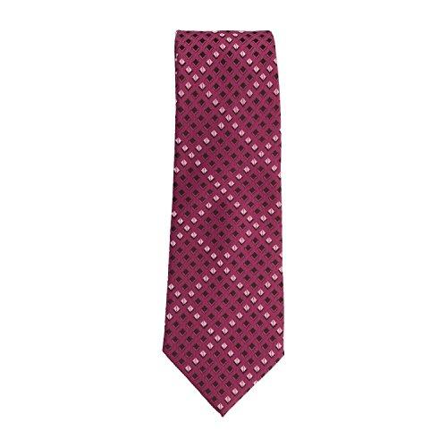 Pure Basic Ties classico cravatta Poliestere porpora