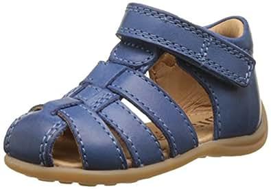 Bisgaard 71206117, Sandales Mixte Bébé, Bleu (601/2 Sea), 20 EU