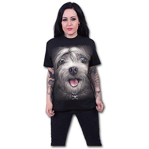 Spiral - Misty Eyes - Front Print Black (T-Shirt Donna Tg. M) Merchandising -