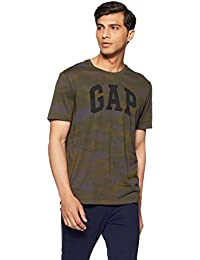 GAP Men's Logo Allover Camo Arch tee