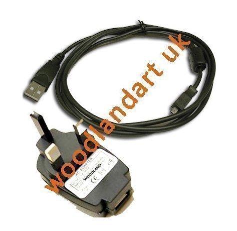 USB Datenübertragung Kabel+UK AC Ladegerät Für KODAK Easyshare Digitalkamera,Camcorder C330 C360 C433 Z710 M320 M340 M380 C763 V803 Z612 Z650 Z700 Z1485 IS V603 C643 C653 C663 C623 C613 C633 M1073