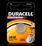 Duracell Knopfzelle Lithium Batterie (CR1616 D)