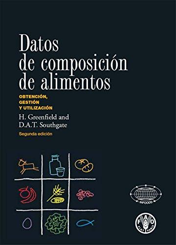 Datos de composición de alimentos por FAO of the UN