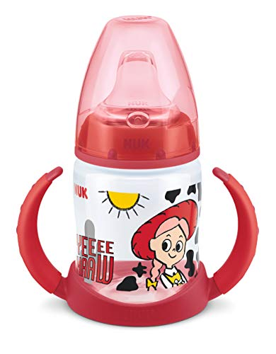 NUK Disney Pixar Toy Story First Choice Trinklernflasche, 6-18 Monate, 150 ml, Jessie