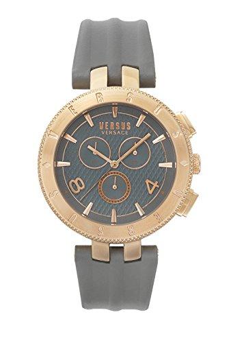 Versus Versace Orologio Cronografo Quarzo Uomo con Cinturino in Pelle S76110017