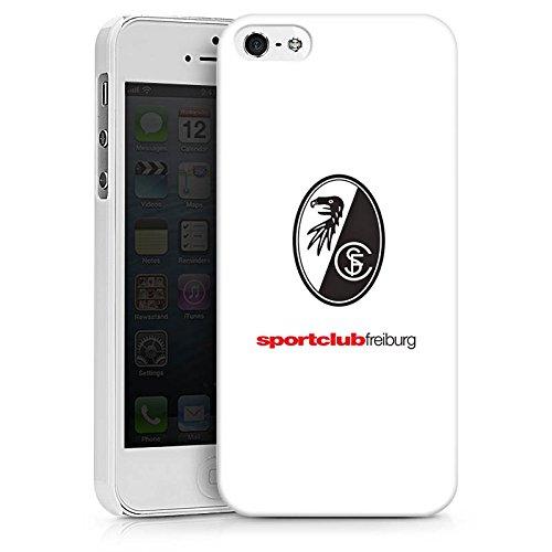 Apple iPhone X Silikon Hülle Case Schutzhülle SC Freiburg Fanartikel Fußball Hard Case weiß