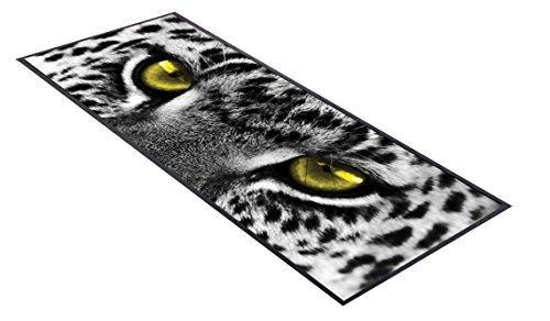 ard Gelb Augen Design Bar Tischläufer ideal für zuhause Bar Shop Cocktail Party Werbung Werkzeug Bar Matte (Leopard Print Tischläufer)