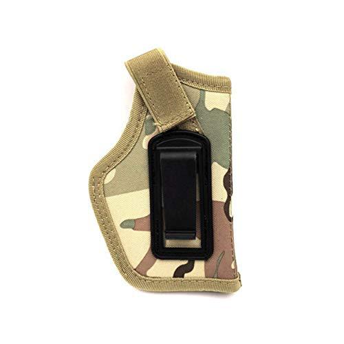 Heaviesk Sacs de Chasse en Plein air avec étui de Ceinture à Pistolet Tactique dissimulé pour Les Mains gauches à Droite, Tous Les Pistolets compacts sous-compacts