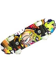 AK Sport Skateboard Multicolore