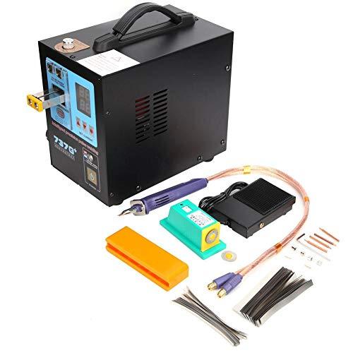Batterie-Punktschweißgerät-Lithium-Batterie-Schweißgerät, Impuls-Punktschweißgerät-schneller Schweißstift für 18650 Batterie-Schweißgerät(EU-Stecker)