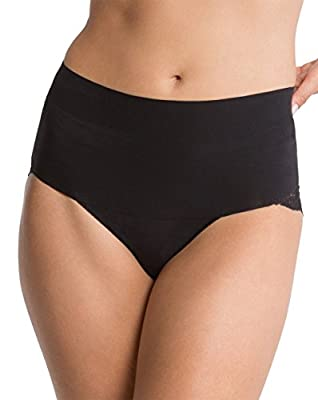 Spanx, 'Undie-tectable' Lace Cheeky Panty, Black or Soft Nude, S-XL