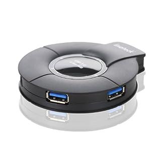 Inateck hub usb 3.0 4 Ports avec alimentation externe 5V 4A câble de données USB3.0, compatible avec Windows XP / Vista / 7 / 8, MacOS-X 10.8.4, Linux (B00BPKSQ4G) | Amazon price tracker / tracking, Amazon price history charts, Amazon price watches, Amazon price drop alerts