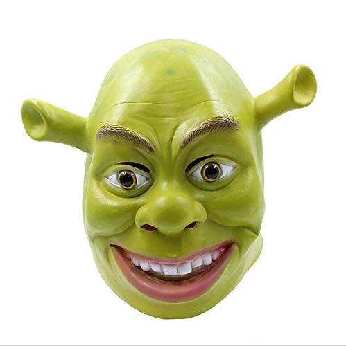 Shrek Halloween - JIAENY Halloween-Maske,Halloween Maske Cosplay Dekoration Shrek